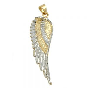 Pendentif ange aile 9k or 431180xx