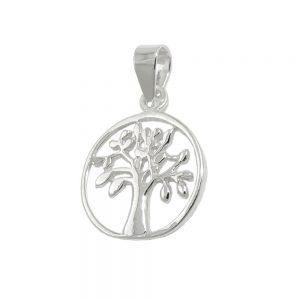 Pendentif arbre dargent vivant 925 Krossin bijoux en argent 93744xx