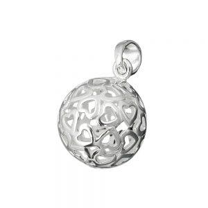Pendentif boule en filigrane 13 mm argent 925 Krossin bijoux en argent 91179xx