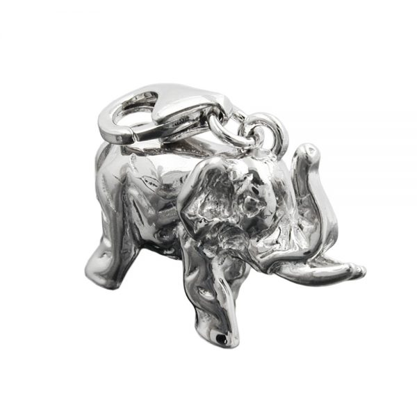 Pendentif charme elephant argent 925 Krossin bijoux en argent 93288xx