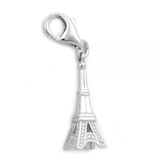 Pendentif charme tour Eiffel argent 925 Krossin bijoux en argent 93295xx