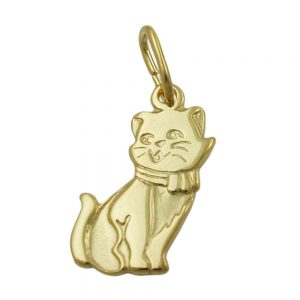 Pendentif chat 8k or 430802xx