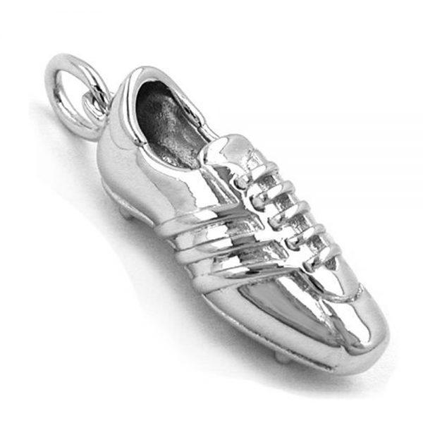 Pendentif chaussure de football argent 925 Krossin bijoux en argent 93264xx