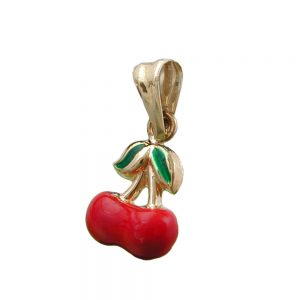 Pendentif cherrys 9k or 430971xx