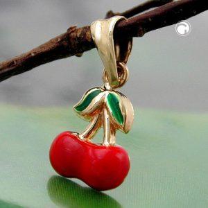 Pendentif cherrys 9k or Krossin bijoux or 430971x