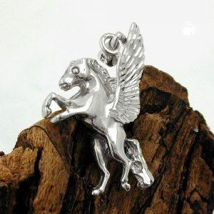 Pendentif cheval avec des ailes argent 925 Krossin bijoux en argent 93298x