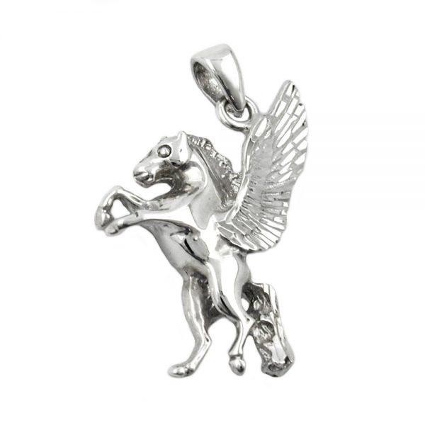 Pendentif cheval avec des ailes argent 925 Krossin bijoux en argent 93298xx