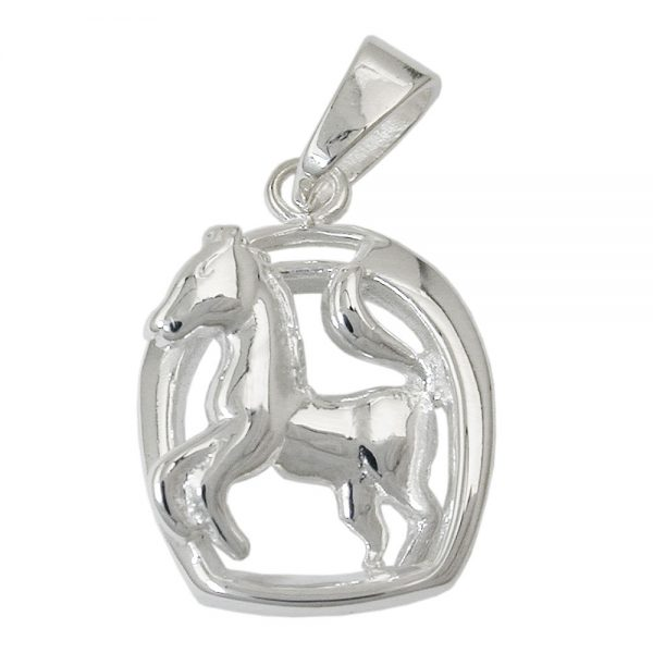 Pendentif cheval en argent 925 Krossin bijoux en argent 91356xx