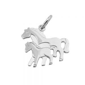 Pendentif chevaux argent 925 Krossin bijoux en argent 90484xx