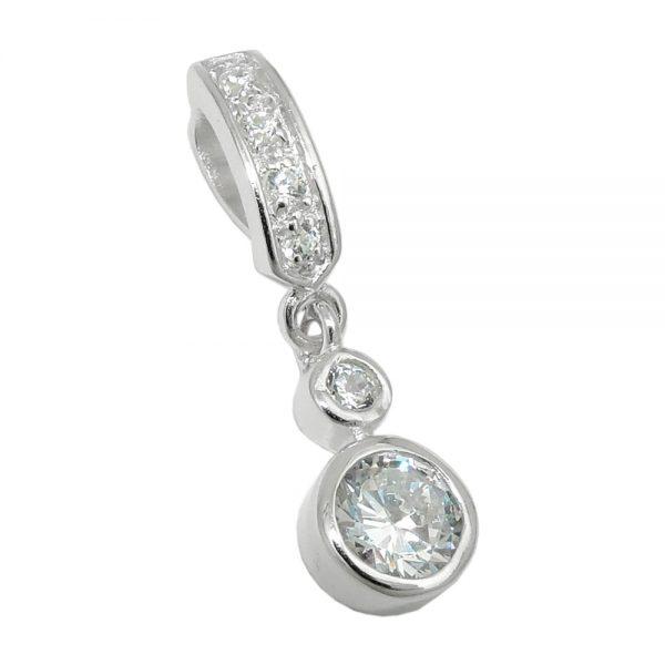 Pendentif coeur argent 925 Krossin bijoux en argent 93536xx