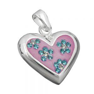 Pendentif coeur avec Zircon argent 925 Krossin bijoux en argent 90511xx