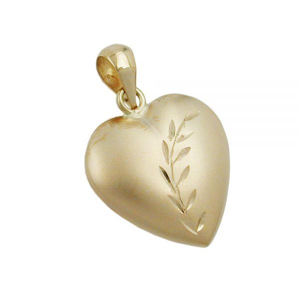 Pendentif coeur en or 9 carats 430824xx