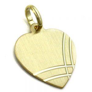 Pendentif coeur en or 9 carats 430996xx
