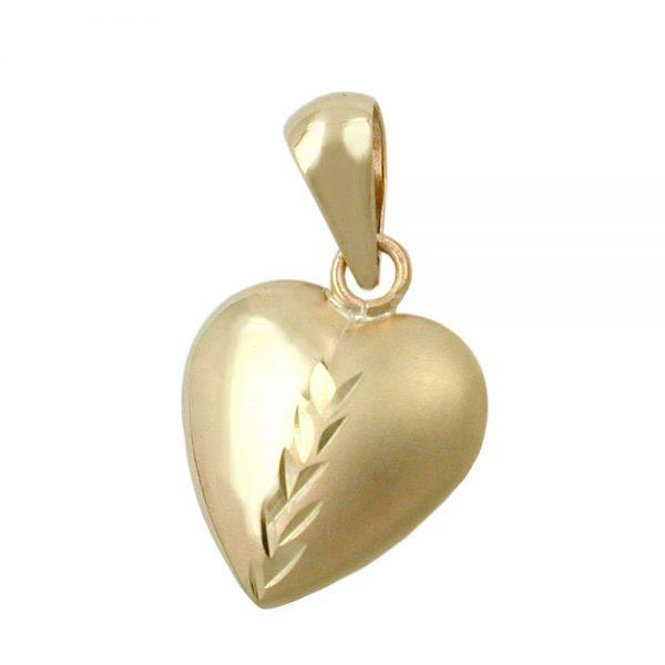 Pendentif coeur en or 9 carats 431251xx