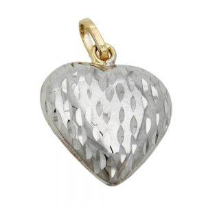 Pendentif coeur en or 9 carats 431293xx