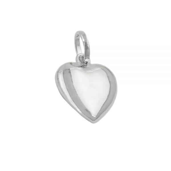 Pendentif coeur rhodie argent 925 Krossin bijoux en argent 93775xx