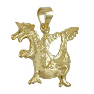 Pendentif conte de fees dragon 9k or 430603xx