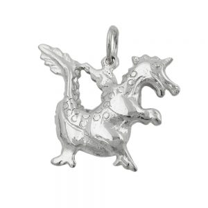 Pendentif conte de fees dragon argent 925 Krossin bijoux en argent 90601xx