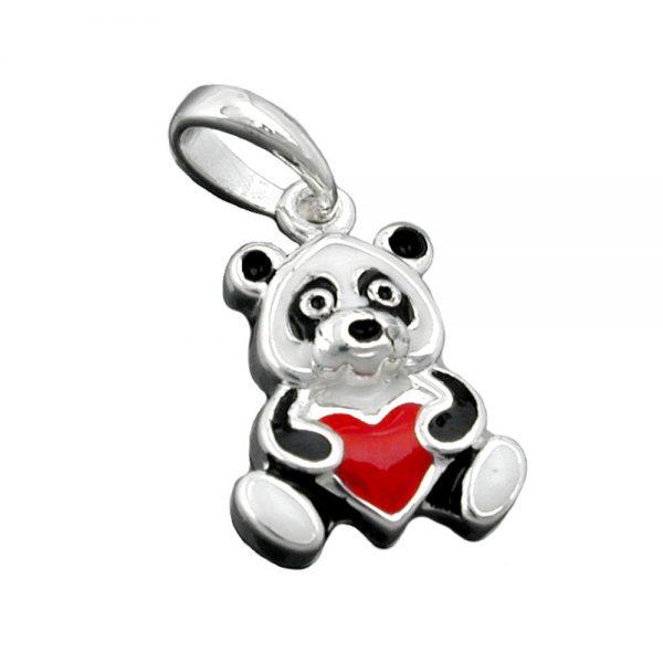 Pendentif couleur panda argent 925 Krossin bijoux en argent 93344xx