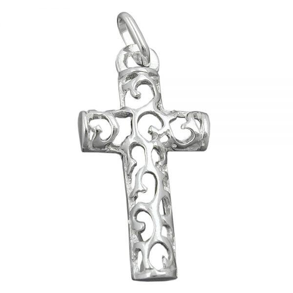 Pendentif croix argent 925 Krossin bijoux en argent 93412xx