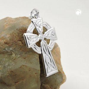 Pendentif croix celtique argent 925 Krossin bijoux en argent 91088x