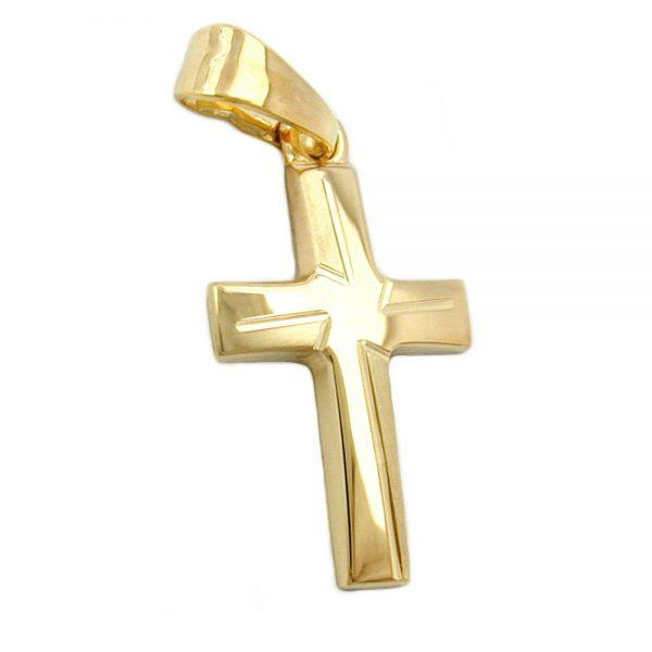 Pendentif croix en or 9k 431164xx