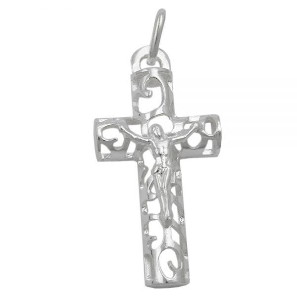 Pendentif crucifix argent 925 Krossin bijoux en argent 93435xx