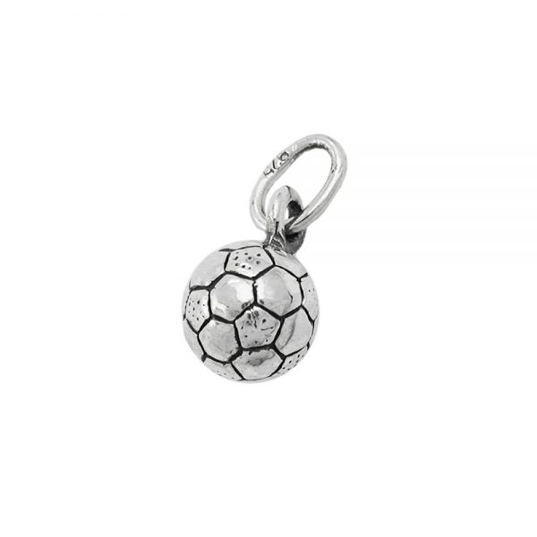 Pendentif de football oxyde argent 925 Krossin bijoux en argent 92176xx