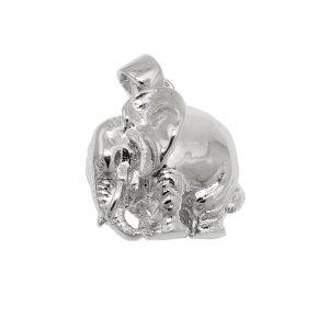 Pendentif elephant en argent poli 925 Krossin bijoux en argent 93599xx
