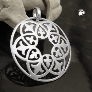 Pendentif en filigrane motif argent 925 Krossin bijoux en argent 93626x