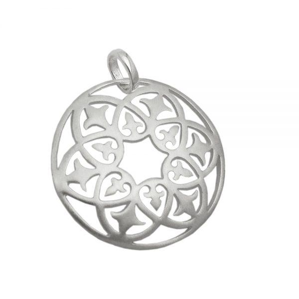 Pendentif en filigrane motif argent 925 Krossin bijoux en argent 93626xx