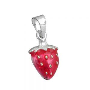 Pendentif fraise argent 925 Krossin bijoux en argent 91429xx