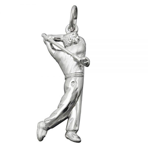Pendentif golfeur argent 925 Krossin bijoux en argent 92192xx
