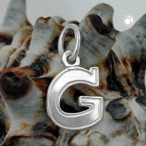 Pendentif initial g argent 925 Krossin bijoux en argent 91770gx