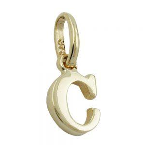 Pendentif initiale c 9k or 430852xx