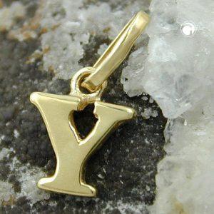 Pendentif initiale et or 9 carats Krossin bijoux or 430874x