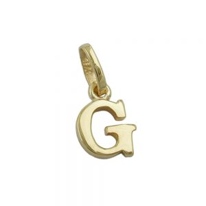 Pendentif initiale g 9k or 430856xx