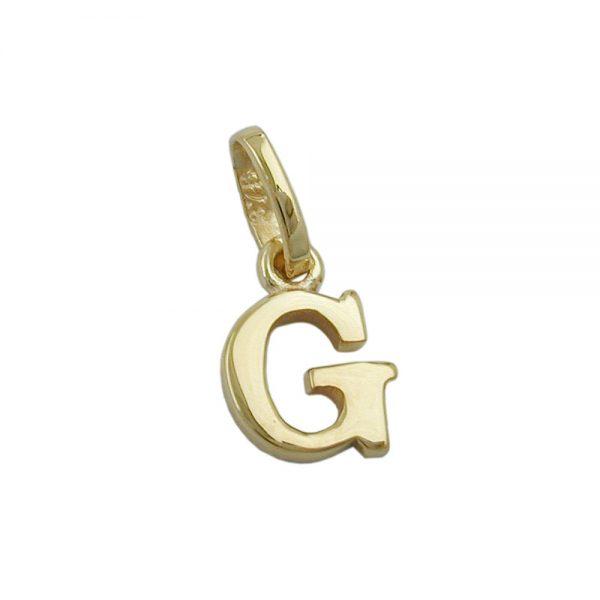 Pendentif initiale g 9k or 430856xx