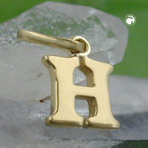 Pendentif initiale h 9k or Krossin bijoux or 430857x