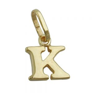 Pendentif initiale k or 9 carats 430860xx