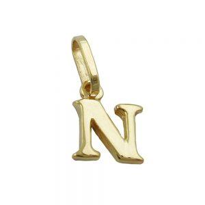 Pendentif initiale n 9k or 430863xx