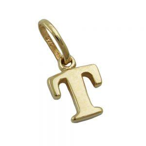 Pendentif initiale t 9k or 430869xx