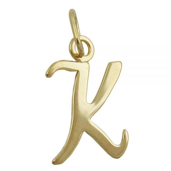 Pendentif lettre k or 8k 431098xx