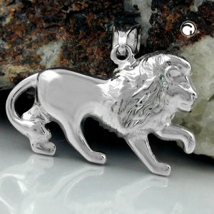 Pendentif lion argent 925 Krossin bijoux en argent 90306x