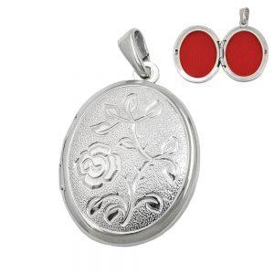 Pendentif medaillon argent 925 Krossin bijoux en argent 90586xx