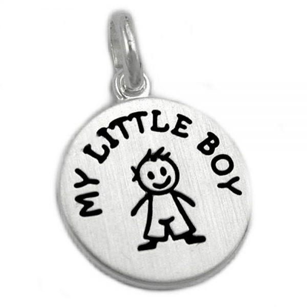 Pendentif mon petit garçon en argent 925 Krossin bijoux en argent 93189xx