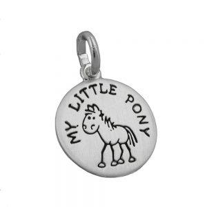 Pendentif mon petit poney argent 925 Krossin bijoux en argent 91317xx