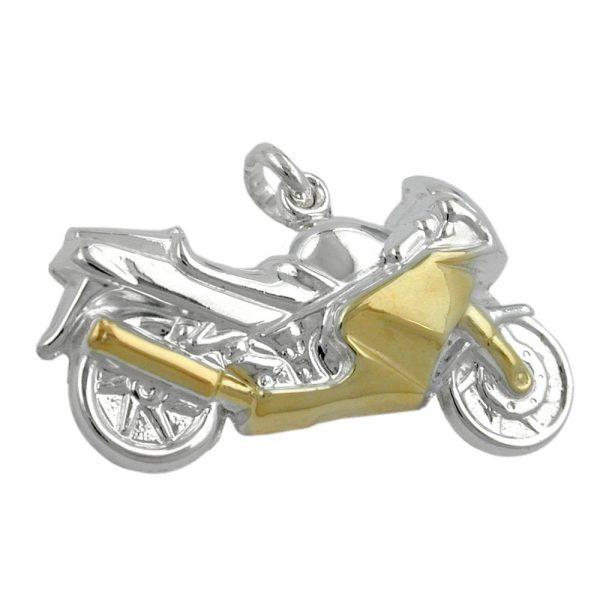 Pendentif moto pour hommes - Krossin pendentif argent