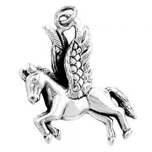 Pendentif pegase en argent moule 925 Krossin bijoux en argent 90255xx