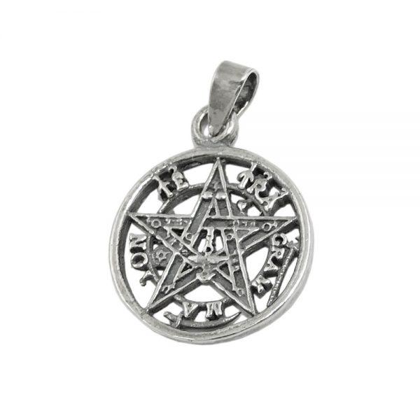 Pendentif pentagramme oxyde argent 925 Krossin bijoux en argent 93740xx